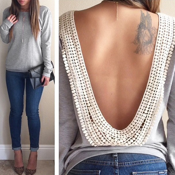 blouse sweater